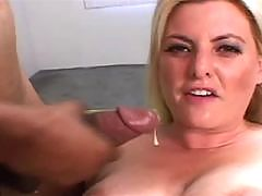 India Summers Bounces On A Black Pecker